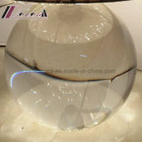 Lámpara de vector redonda cristalina moderna de la cortina de la tela para el dormitorio