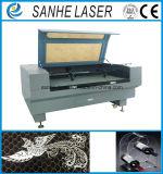Máquina de gravura eletrônica de madeira automática do gravador do laser da alimentação 100wco2