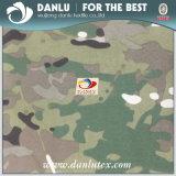 Plakte de camouflage Afgedrukte Stof van de Huid van de Perzik van de Polyester Gebreide Stof