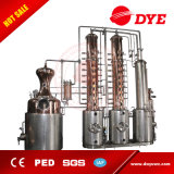Acier inoxydable toujours toujours de qualité/bac de cuivre de distillation d'alcool