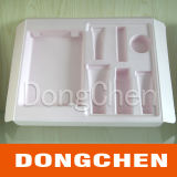 Paquete transparente plástico de encargo de la caja de la ampolla del animal doméstico
