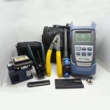9 PCS em ferramentas de um cabo da fibra óptica do saco FTTH carreg