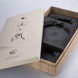 OEMのギフトのための贅沢な木及びペーパーギフト用の箱の荷箱