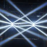 8 *10W LEIDENE van RGBW 4in1 horizontaal Bewegende HoofdSpin