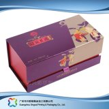 Regalo del embalaje del papel de la cartulina del encierro/rectángulo magnéticos del té (xc-hbt-005)