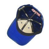 Custom голубой хлопок вышивка бейсбола винты с головкой