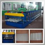 Gewölbte Rolle, die das Maschinen-Dach-Panel herstellt Geräte bildet
