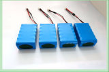 태양 가벼운 건전지를 위한 7.4V 4000mAh 리튬 건전지 팩