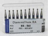 각에 대하여를 위한 Ra/Ca 다이아몬드 Bur