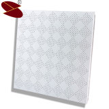 Matériau de châssis en alliage aluminium invisibles plafond suspendu en métal perforé