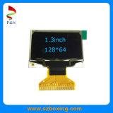 1.3inch Smartwatch를 위한 파란 색깔 OLED 모듈