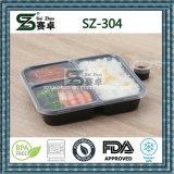 3compartment PP 처분할 수 있는 음식 저장 그릇 (SZ-304)