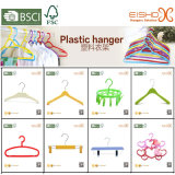 Eishoの贅沢な衣服の使用法の金カラープラスチックハンガー