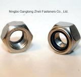 Écrous de blocage chauds du nylon DIN985 de la vente solides solubles 304