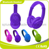 Auriculares do auscultadores de Bluetooth do preço de fábrica com o cartão do SD da memória