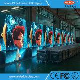 단계 성과를 가진 실내 P3 풀 컬러 임대료 HD LED 영상 벽