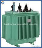 11kv 33kv type rempli d'huile transformateur de 3 phases d'isolement