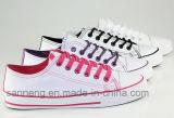 Grundlegende Art-Segeltuch-Schuhe für Frauen-Männer (SNC-240018)