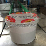 Línea tipo automática máquina de rellenar del compartimiento plástico
