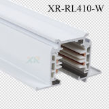 Carril de aluminio ahuecado 3cricuits de la pista de la iluminación del perfil del TUV LED (XR-RL410)