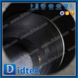 O punho de Didtek API 6D 4inch opera a válvula de esfera do aço da carcaça