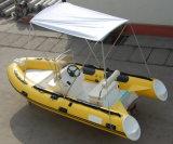 1.2mm PVC 최신 섬유유리 배에 4.3m