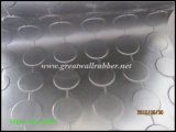 Anti-Slip 고무 장, Anti-Slip 마루는 단추 고무 매트의 둘레에, 연결한다