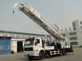 precio rotatorio hidráulico montado carro de las plataformas de perforación del receptor de papel de agua de los 400m