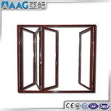 Puerta de aluminio plegable del diseño del cliente 6063 T5