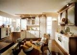 優雅の紫外線モジュラー台所家具の食器棚