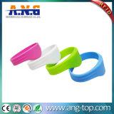 Bracelete impermeável do Wristband do silicone de RFID para o parque da água