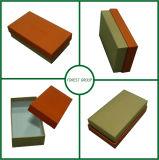 Rectángulo de empaquetado de la alta de Quliaty carpeta de papel de encargo de la cartulina