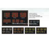 Часы календара электрического времени Radio сигнала СИД цифров автоматического установленные