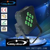 7pcs LED Chambre Mini plat en plastique par la lumière / LED PAR64 en plastique léger / Meilleur Prix de la Chine par LED