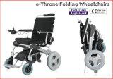 힘 휠체어, 휴대용 24V 15ah 건전지와 더불어, 경량과 Foldable! 세륨은 승인했다!