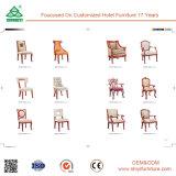 A madeira nova da cuba da mobília do hotel do projeto 2017 imita a cadeira para jantar
