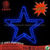 LED-Doppelstern-Form-dekoratives Licht für Feiertag