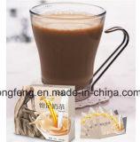 Remplacement de repas de satiété de régime de 7 jours amincissant le thé de lait