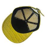 Желтая крышка PU цвета с вышито