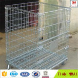 Gaiola de armazenamento empilhável / Cesta de metal para armazenamento