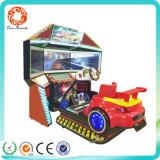 Máquina de juego simulador de carreras de tres pantallas 4D coche Dynamic outrun