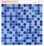 安のWithdotの青いガラスモザイク
