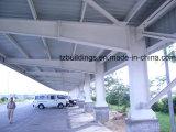 Fábrica de la estructura de acero del palmo grande, almacén, edificio, vertiente, hangar, puente, estación