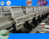 산업 편평한 자수 기계 8 3D와 모자 t-셔츠 자수를 위한 맨 위 자수 기계