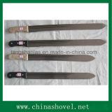 Machete de la caña de azúcar del acero de carbón del machete para cultivar y cultivar un huerto