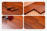Mahagonifarbe Iroko festes Holz-Bodenbelag