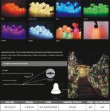 Licht neue des Ankunfts-Dekoration-Großhandelskugel-wasserdichtes Weihnachtsstreifen-LED