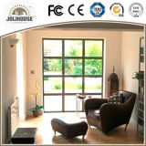 Fabrik-Großverkauf-preiswertes Haus-örtlich festgelegtes Aluminiumflügelfenster-Fenster