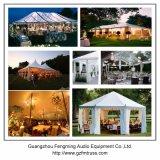 grande tente extérieure de mariage de jardin de 12mx25m avec le toit transparent et le mur clair