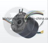 ID 56mm 12,7 mm de diamètre extérieur à travers le trou électrique slip ring ISO/ce/FCC/RoHS
